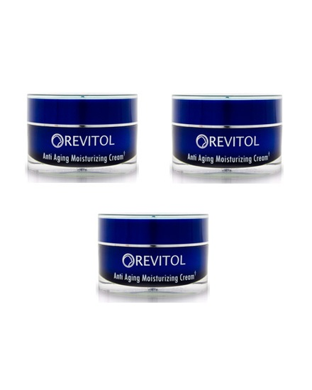 Revitol Anti Aging Moisturizing Cream - 3 Month Supply