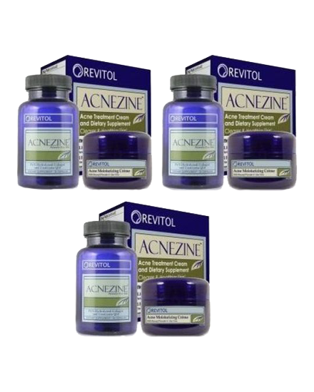 Revitol Acnezine Acne Treatment 3 month supply