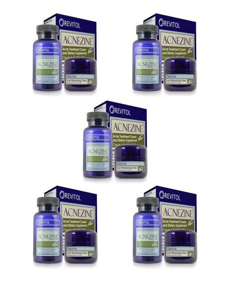 Revitol Acnezine Treatment Cream 5 Month Pack