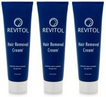 Revitol Hair Removal Cream 3 Month Kit