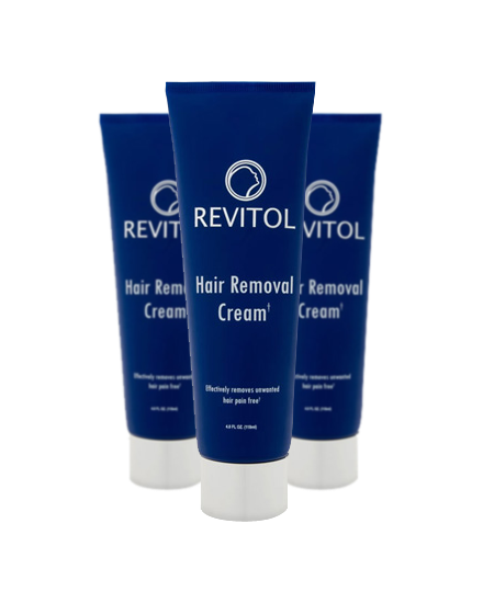 Revitol Hair Remover Cream 3 Month Pack Revitol Us
