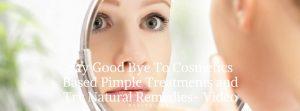 natural pimple treatment