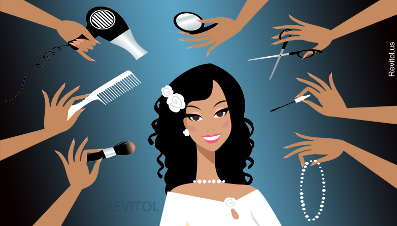Get the gorgeous bridal look in just 5 steps